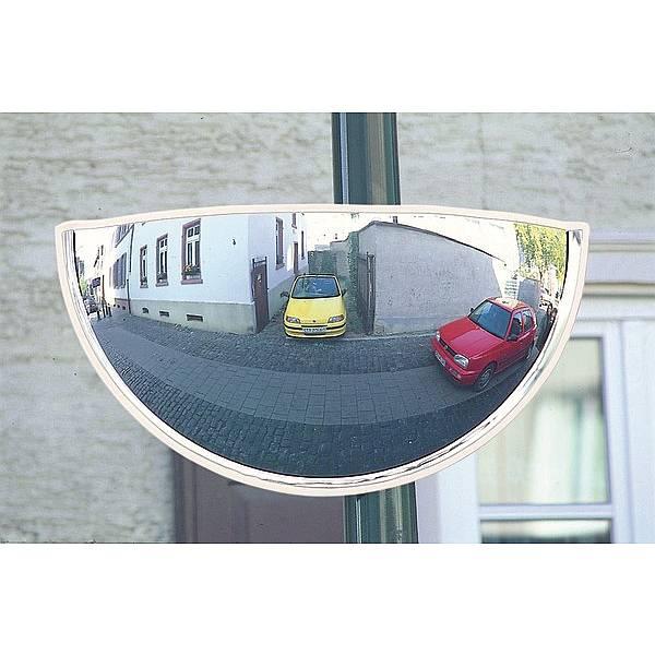 Weitwinkelspiegel 180° ca.5m Bereich, Acrylglas, inkl.Halterung 750x400mm