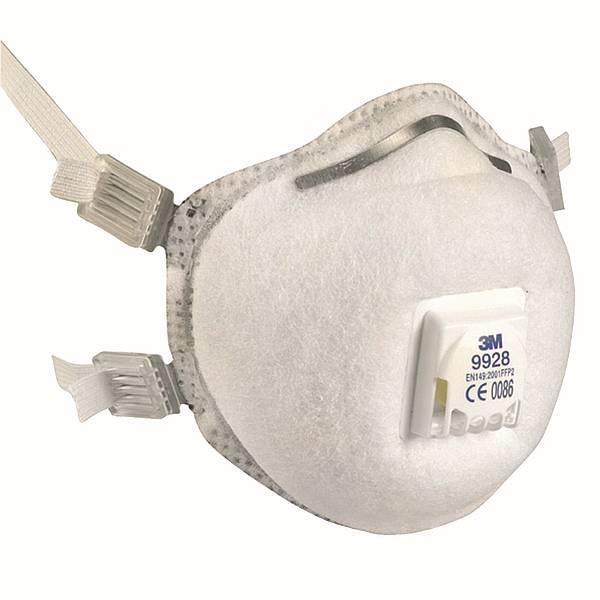 3M Spezialmaskenprogramm, Ozonmaske FFP2 S  9928 1, VE = 10 Stk.