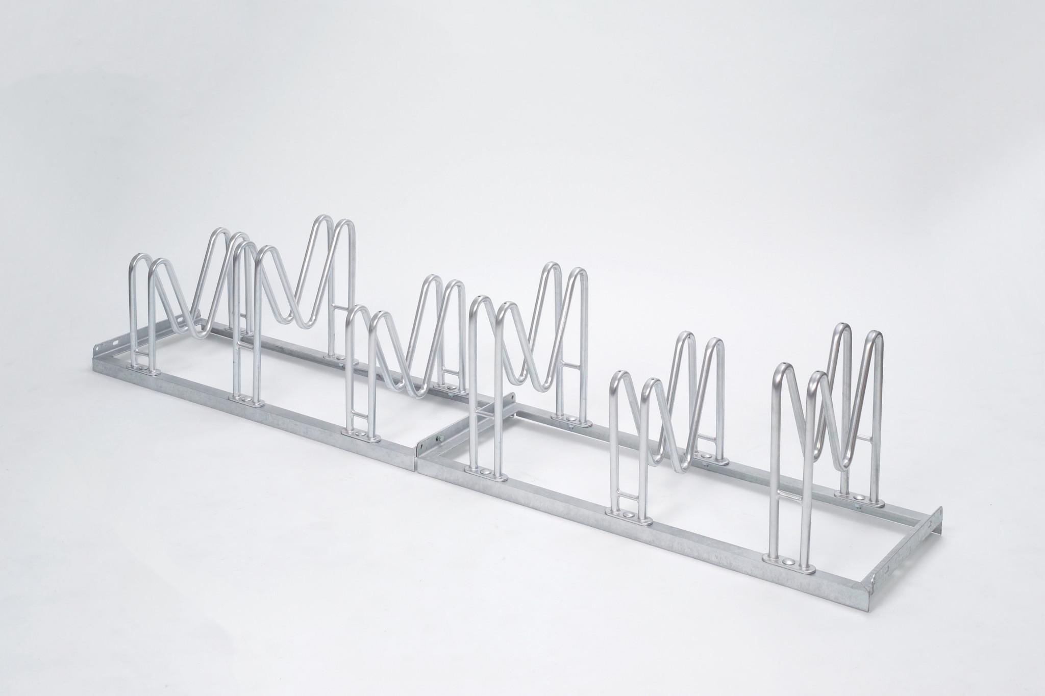 Fahrradständer 8055 1750mm einseitigFahrradMultiparker5 Stellplätze